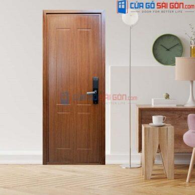 TOP 10 | Mẫu cửa gỗ thông phòng 1 cánh đẹp kiểu dáng sang trọng